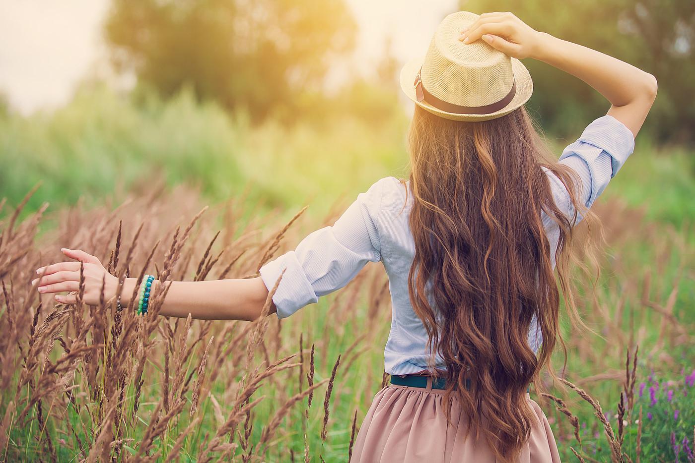 Длинные и красивые волосы