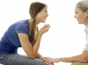 Общение матери и взрослой дочери